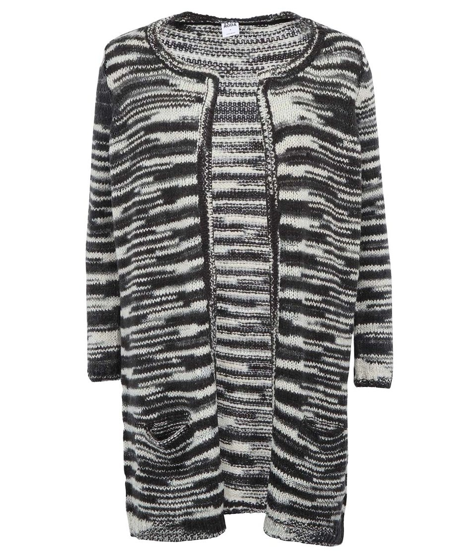 Černý dámský dlouhý cardigan Vero Moda Dakota