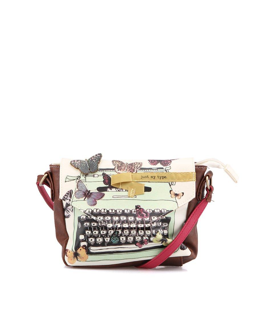 """Barevná menší kabelka """"psací stroj"""" Disaster Type Write"""