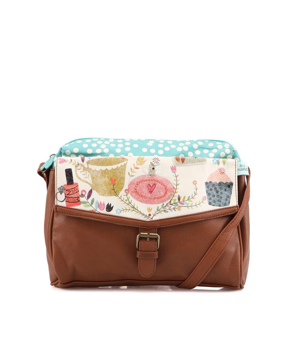 Menší satchel kabelka Disaster