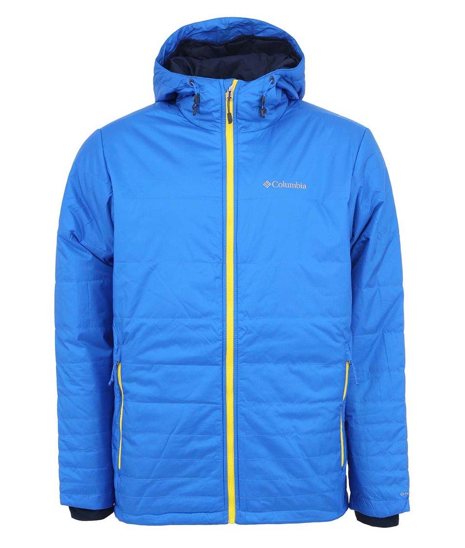 Modrá pánská bunda s kapucí Columbia Go To