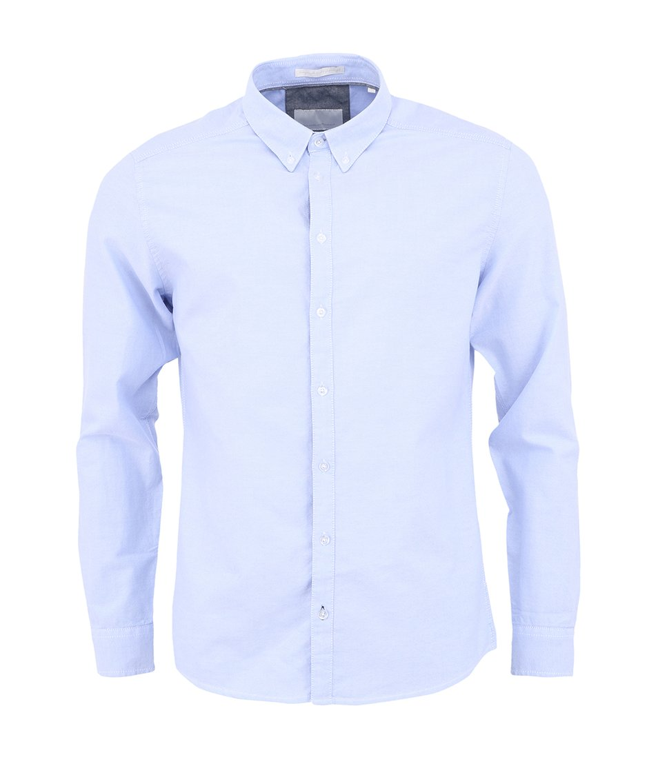 Modrá košile !Solid London