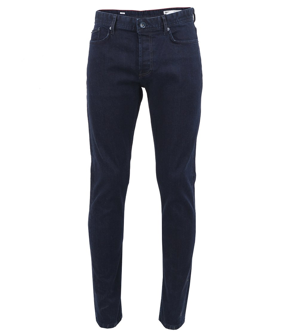 Tmavě modré skinny džíny ONLY & SONS Avi
