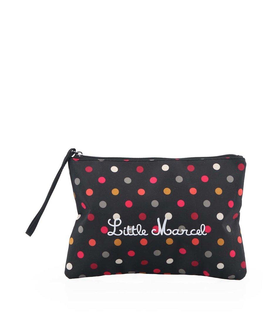 Černá malá kabelka s puntíky Little Marcel