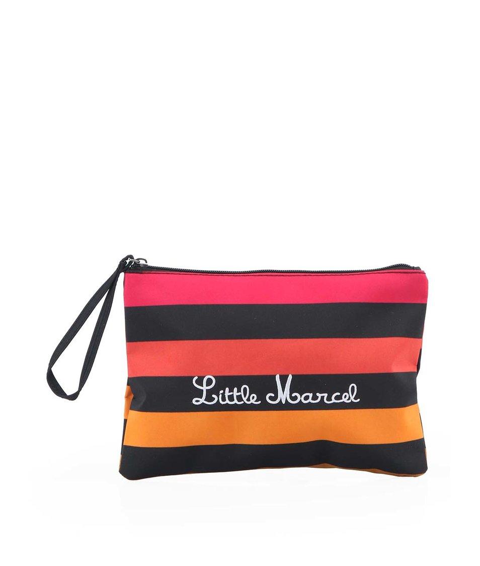 Pruhovaná univerzální kabelka Little Marcel