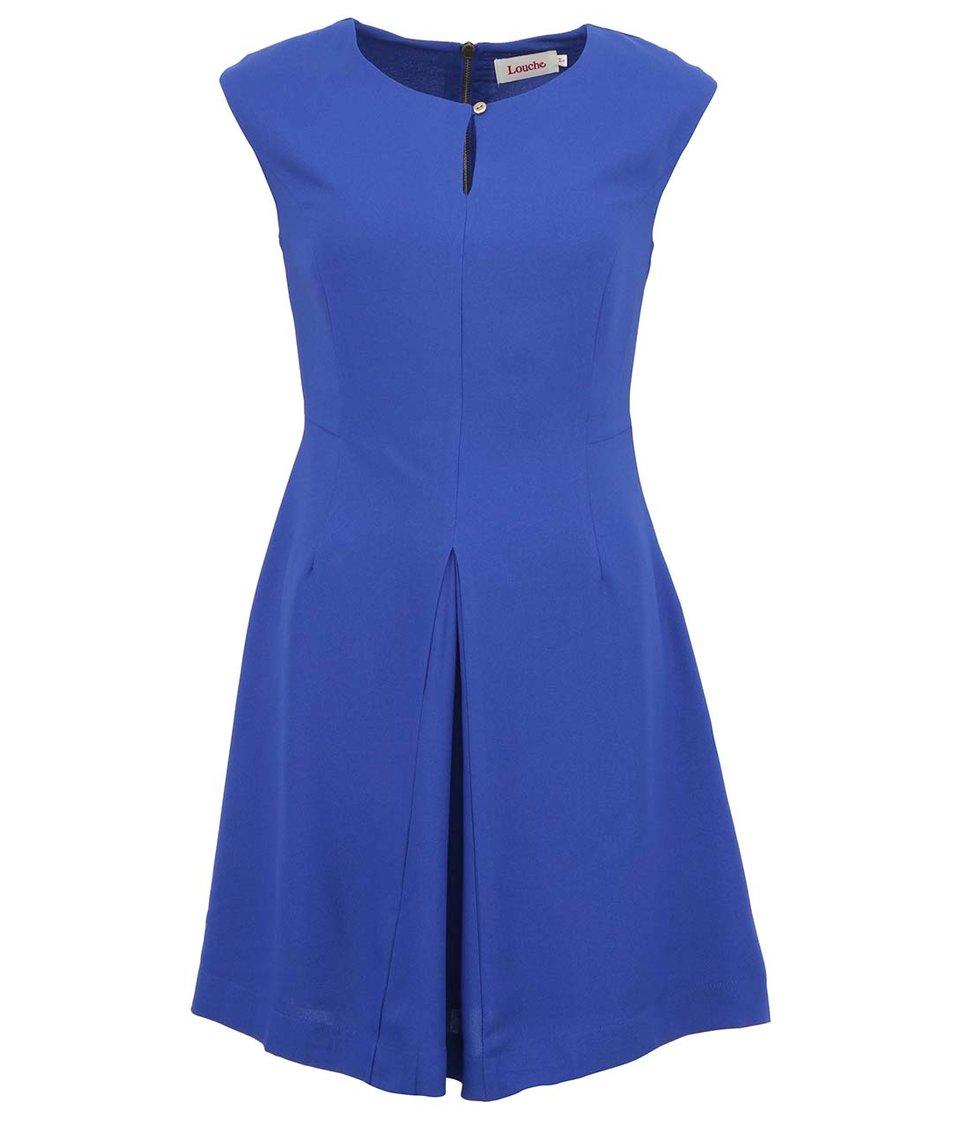 Královsky modré šaty Louche Corrie