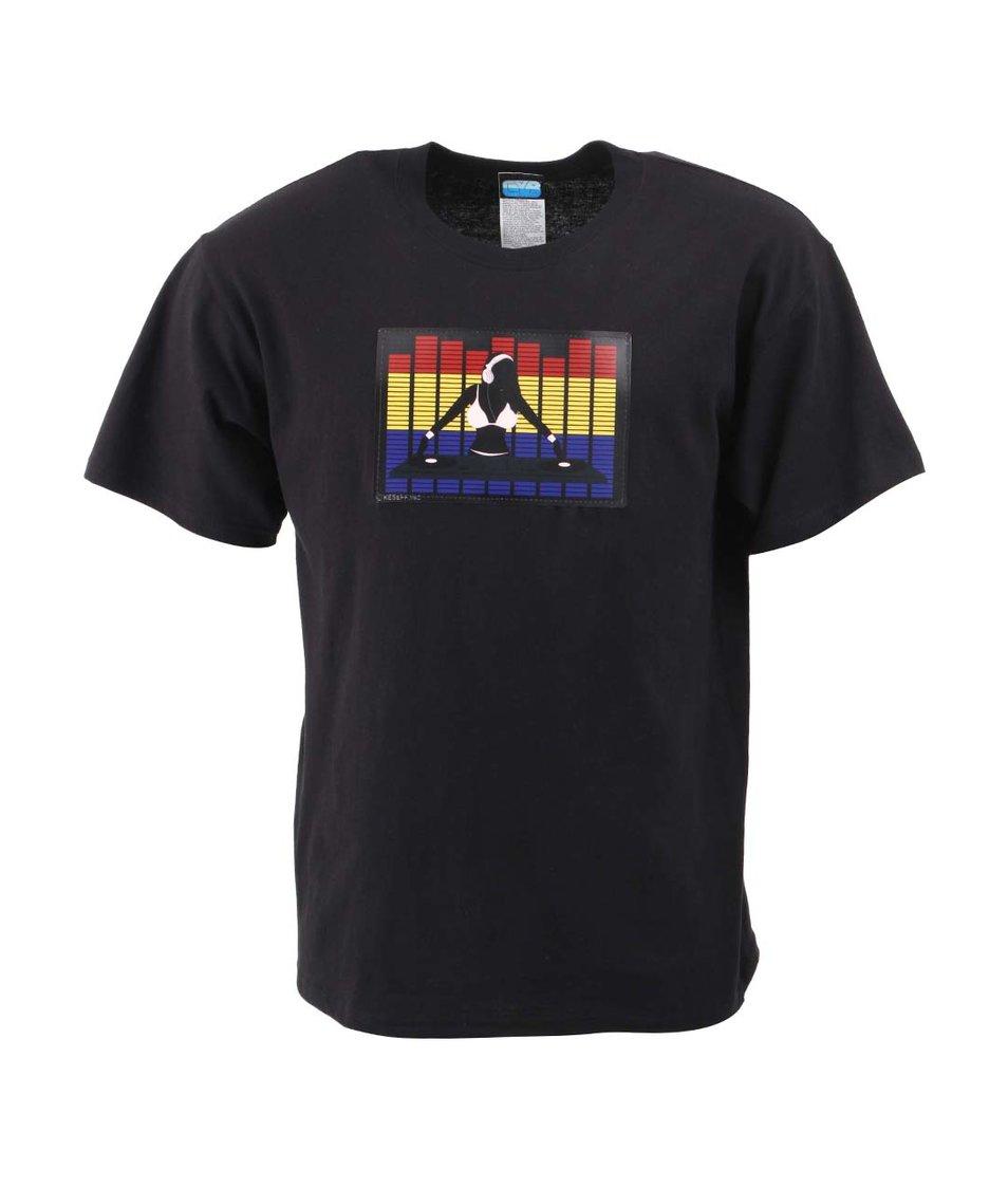 Černé pánské triko CYBwear Sexy