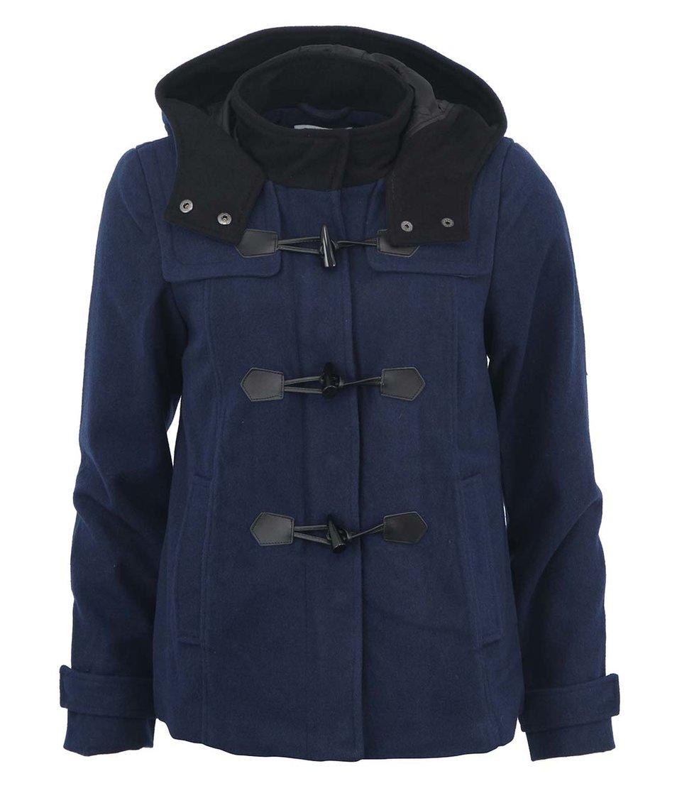 Tmavě modrý krátký kabát Vero Moda Dana