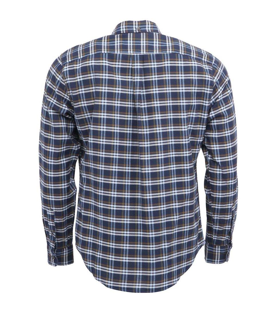 Tmavě modrá kostkovaná pánská košile Levi s® - Vánoční HIT!  9016f5907d