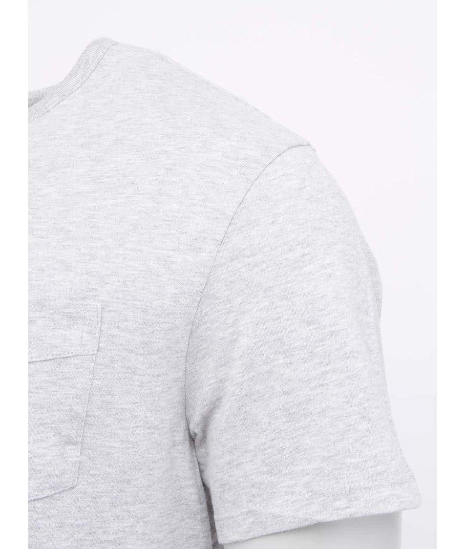 Šedé pánské triko s krátkým rukávem Levi s® - Vánoční HIT!  3f080c51cb