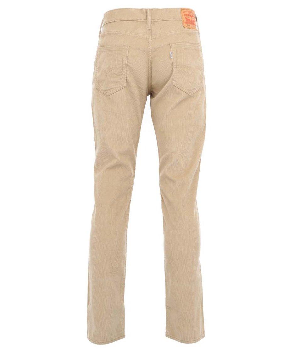 Pánské béžové manšestrové kalhoty Levi's®