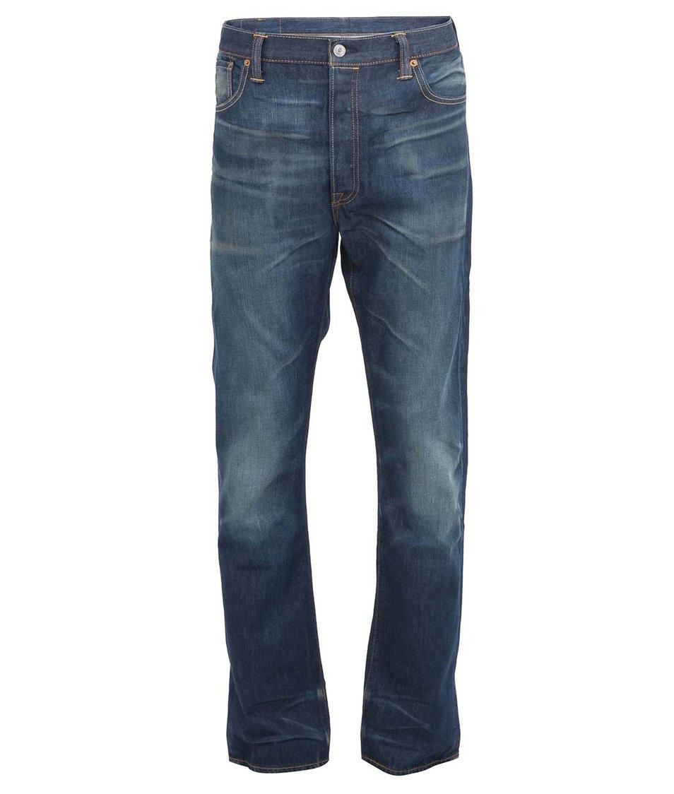 Modré pánské rovné džíny Levi's® 501