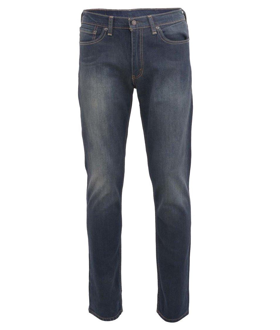 Tmavší modré pánské slim džíny Levi's® 511