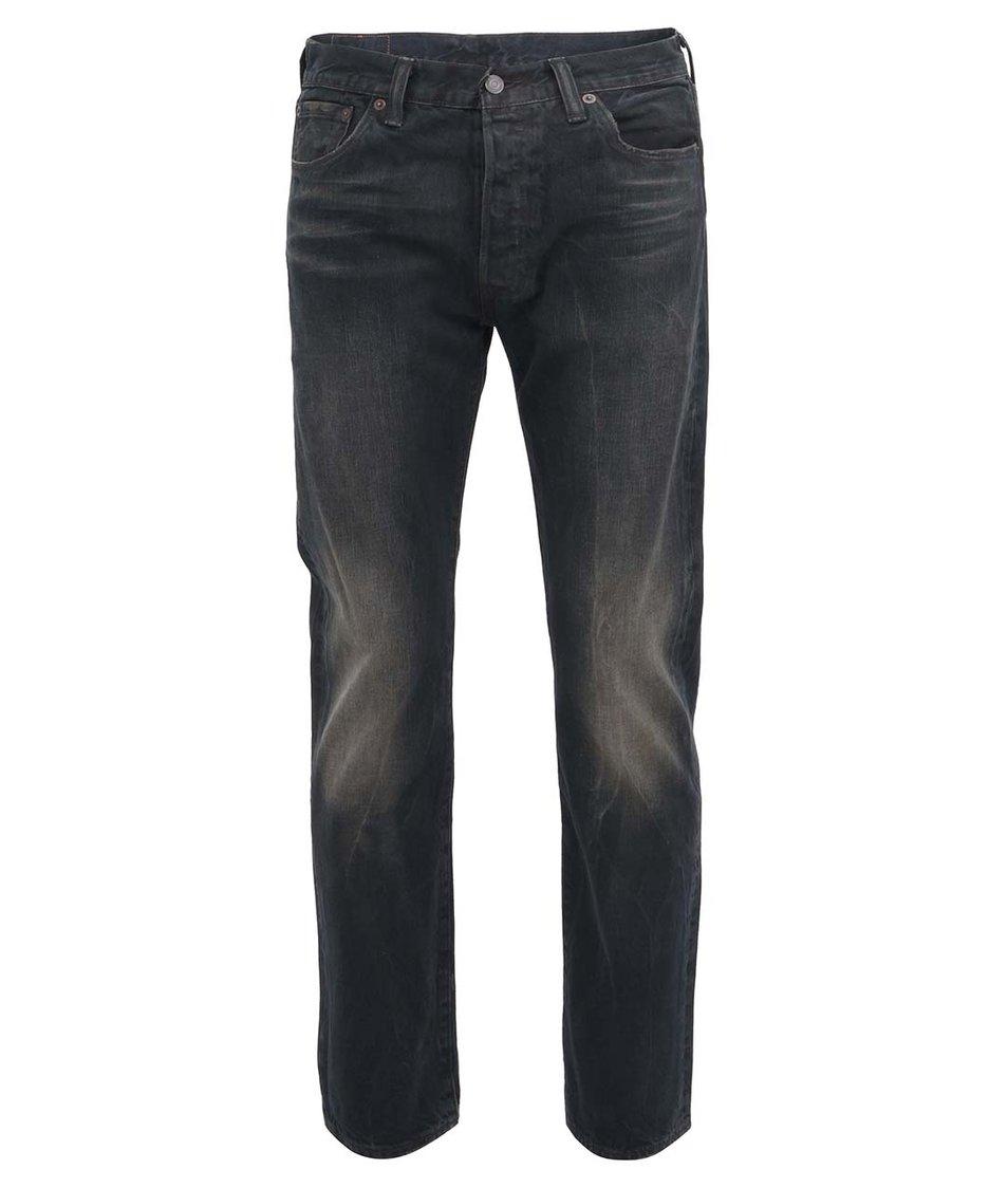 Tmavě modré pánské rovné džíny Levi's® 501