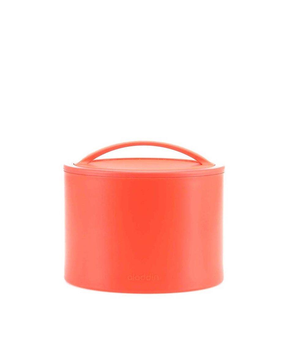 Červený termobox na svačinu Aladdin Bento 0,6 l