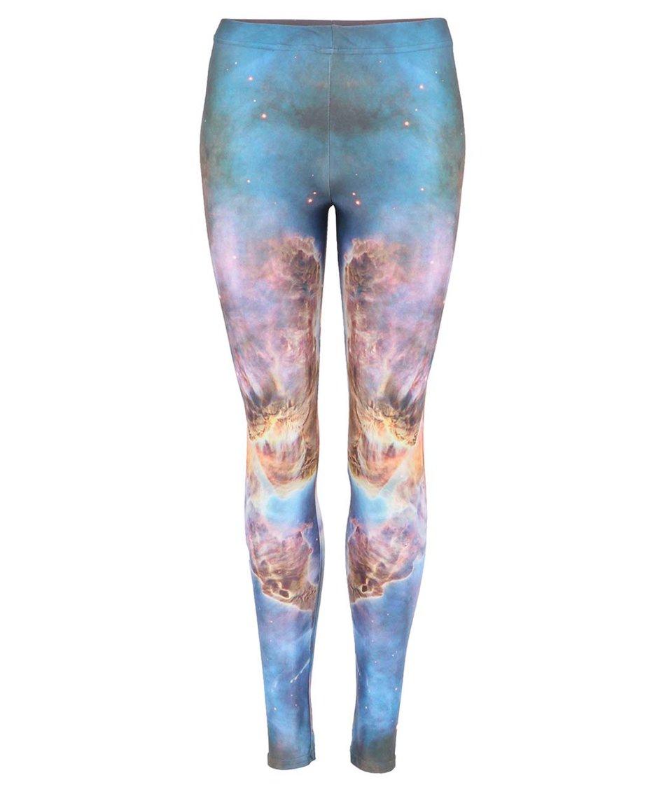 Barevné legíny Mr. Gugu & Miss Go Sea Nebula
