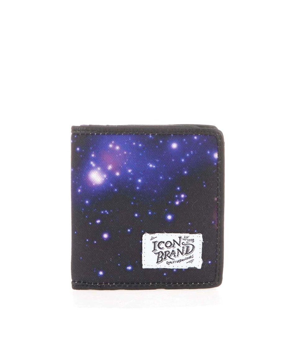 Peněženka se vzorem galaxie Icon Brand