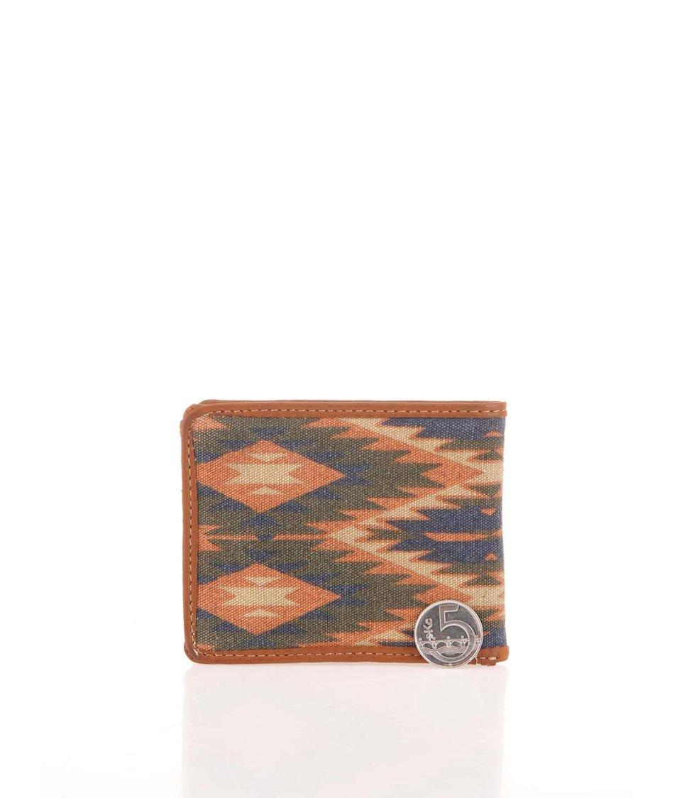 Hnědá peněženka s aztéckým vzorem Icon Brand