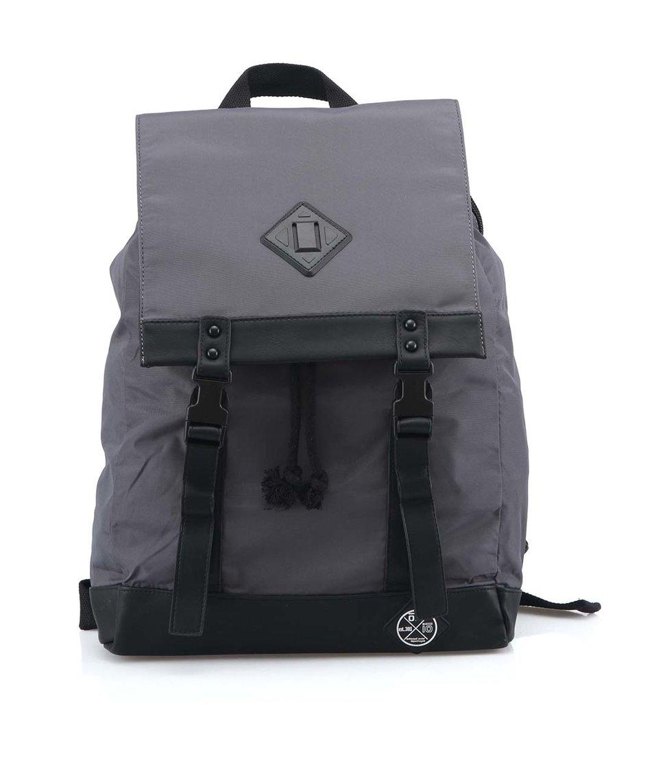 Šedý batoh s nepromokavou úpravou Oill Lars Darrel