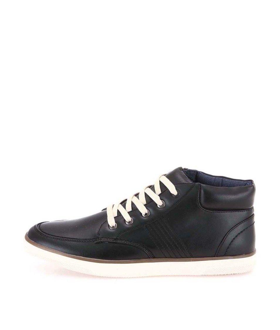 Černé pánské kotníkové boty Coolman