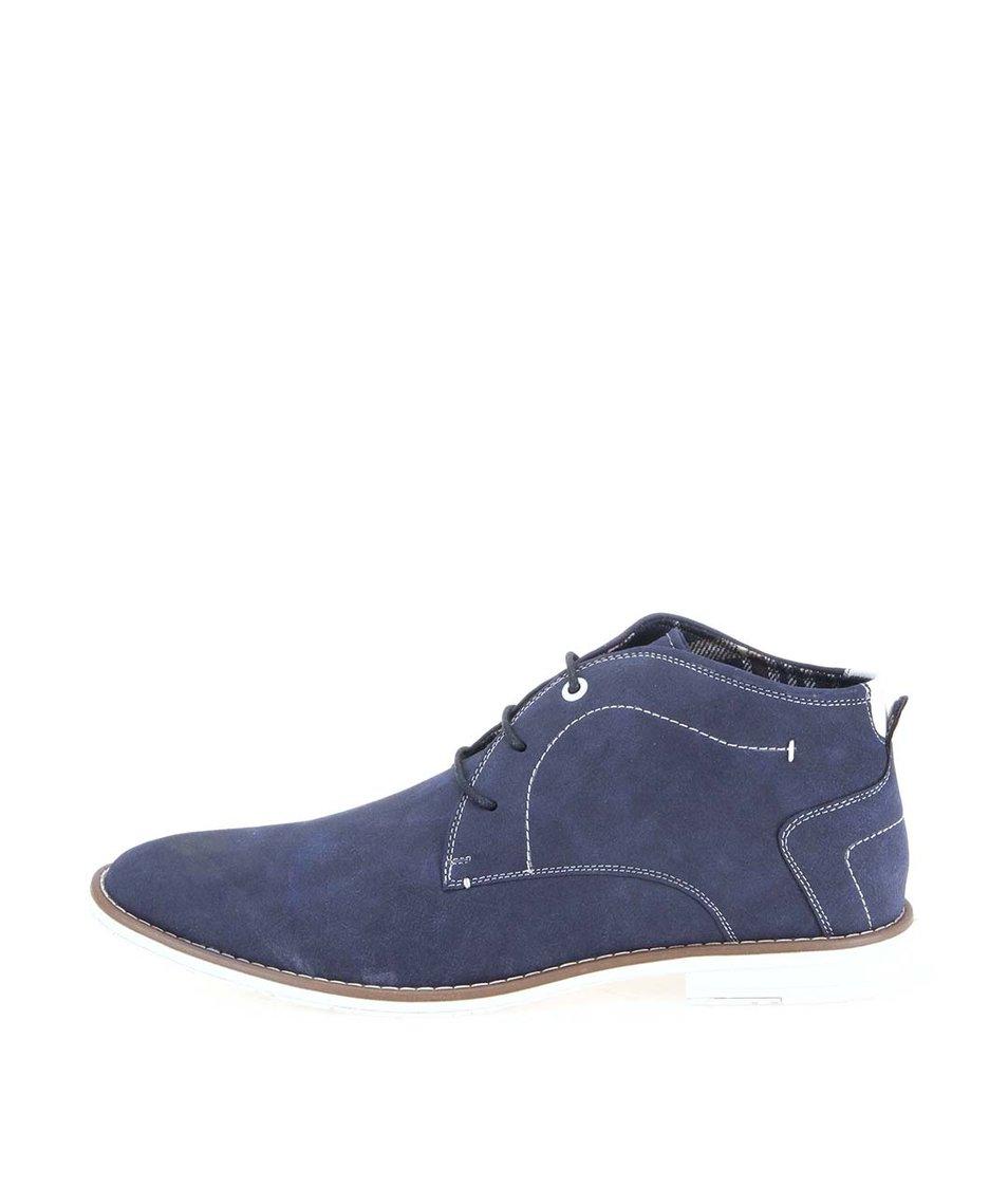 Tmavě modré pánské kotníkové boty Coolman