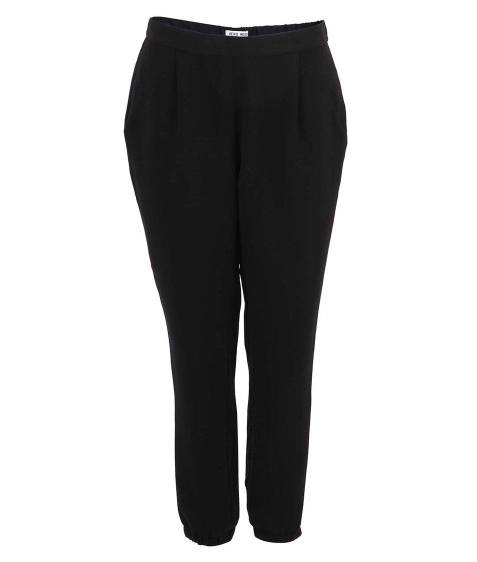 Černé volné kalhoty Vero Moda Carly