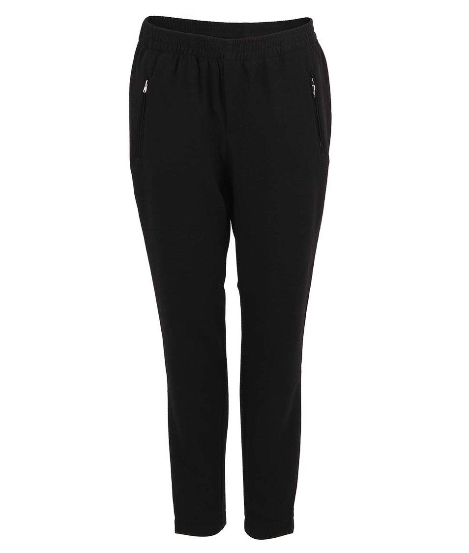 Černé volné kalhoty Vero Moda Great