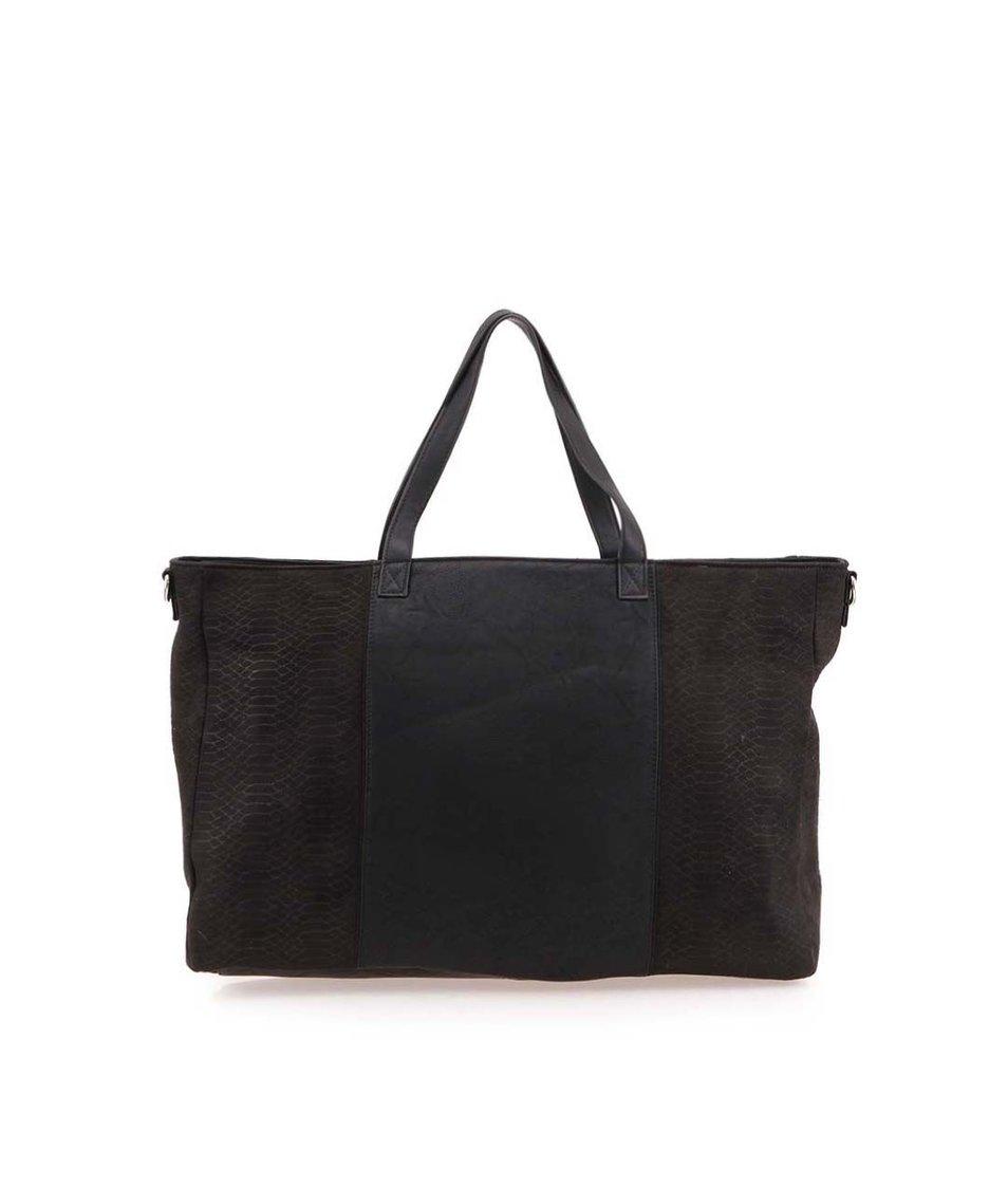 Černá kabelka Pieces Pembe