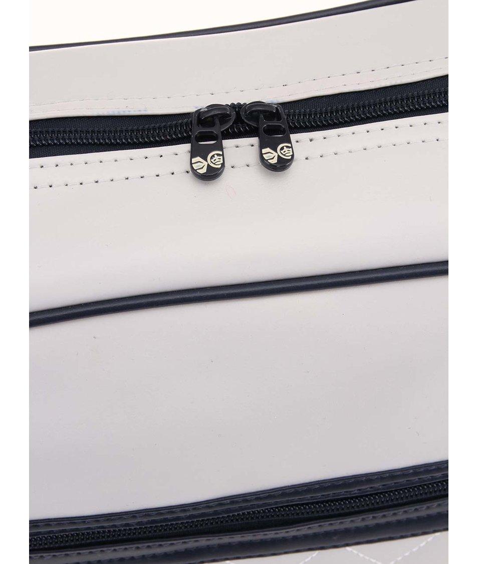 Modro-šedá pánská taška přes rameno Crosshatch Oakham