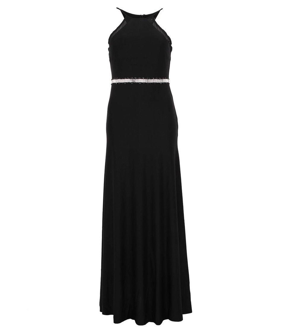 Černé dlouhé společenské šaty AX Paris