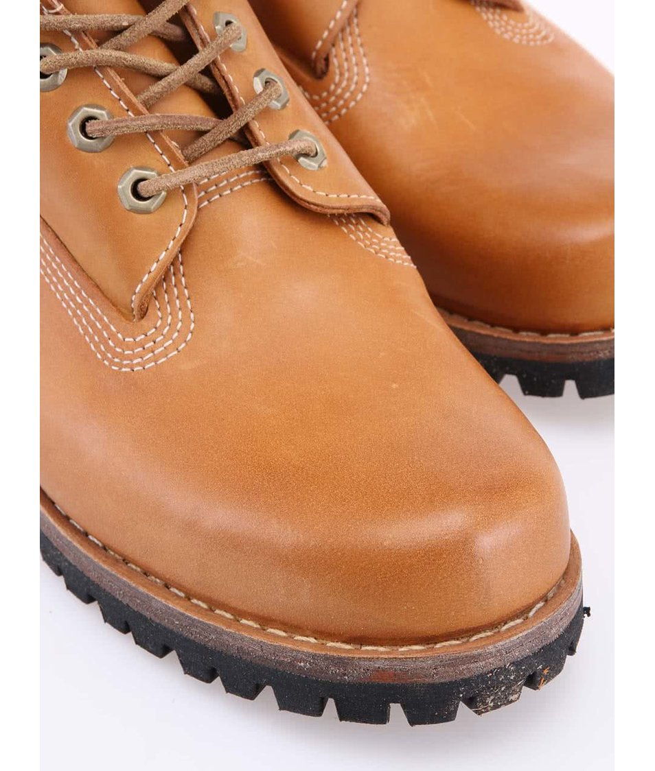 88c11d6afdd Hnědé pánské kožené nepromokavé boty Timberland Heritage - Vánoční ...