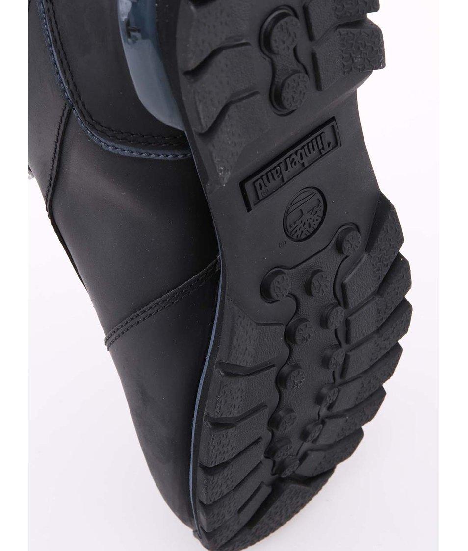 Černé pánské kožené trekové boty Timberland Spiltrock 2 - Vánoční ... a0824f124d