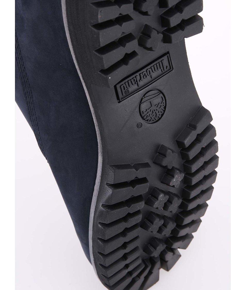 86e608072a1 Tmavě modré pánské kožené nepromokavé boty Timberland 6-Inch Premium ...