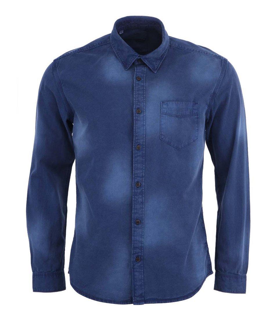 Tmavě modrá košile Selected Craft Slim Fit