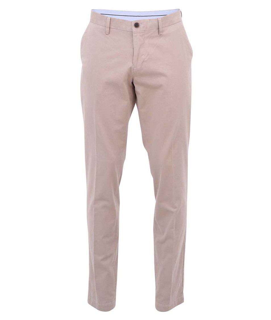 Béžové chino kalhoty Bertoni
