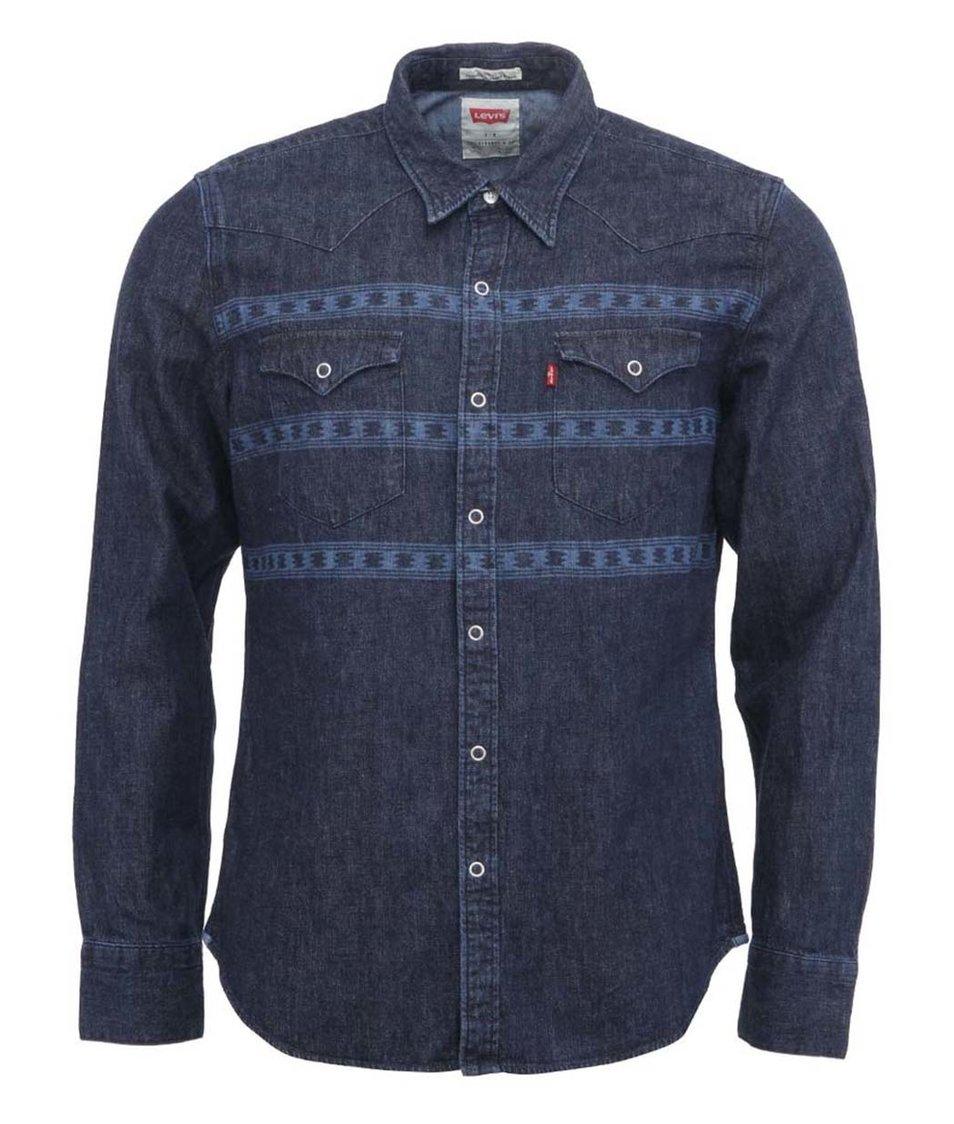 Modrá pánská denimová košile Levi's®