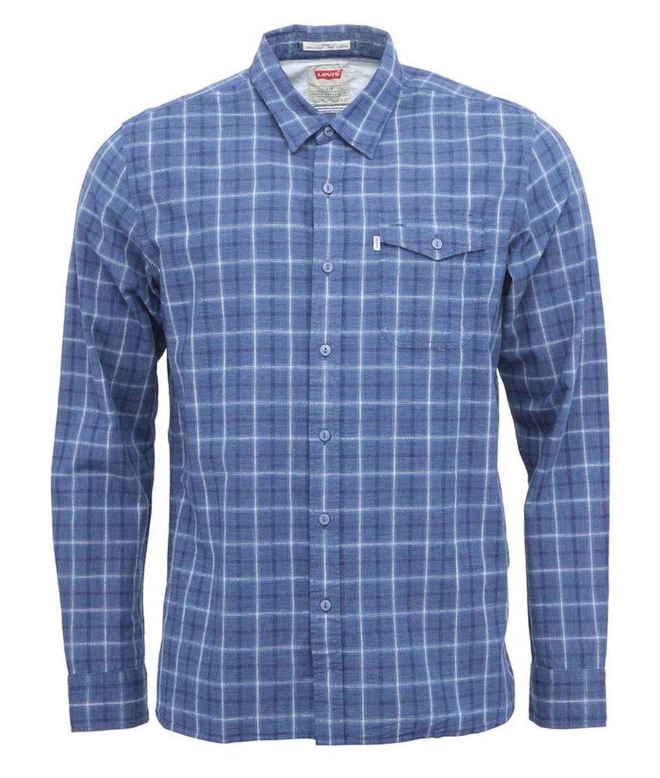 Modrá pánská kostkovaná košile Levi's®