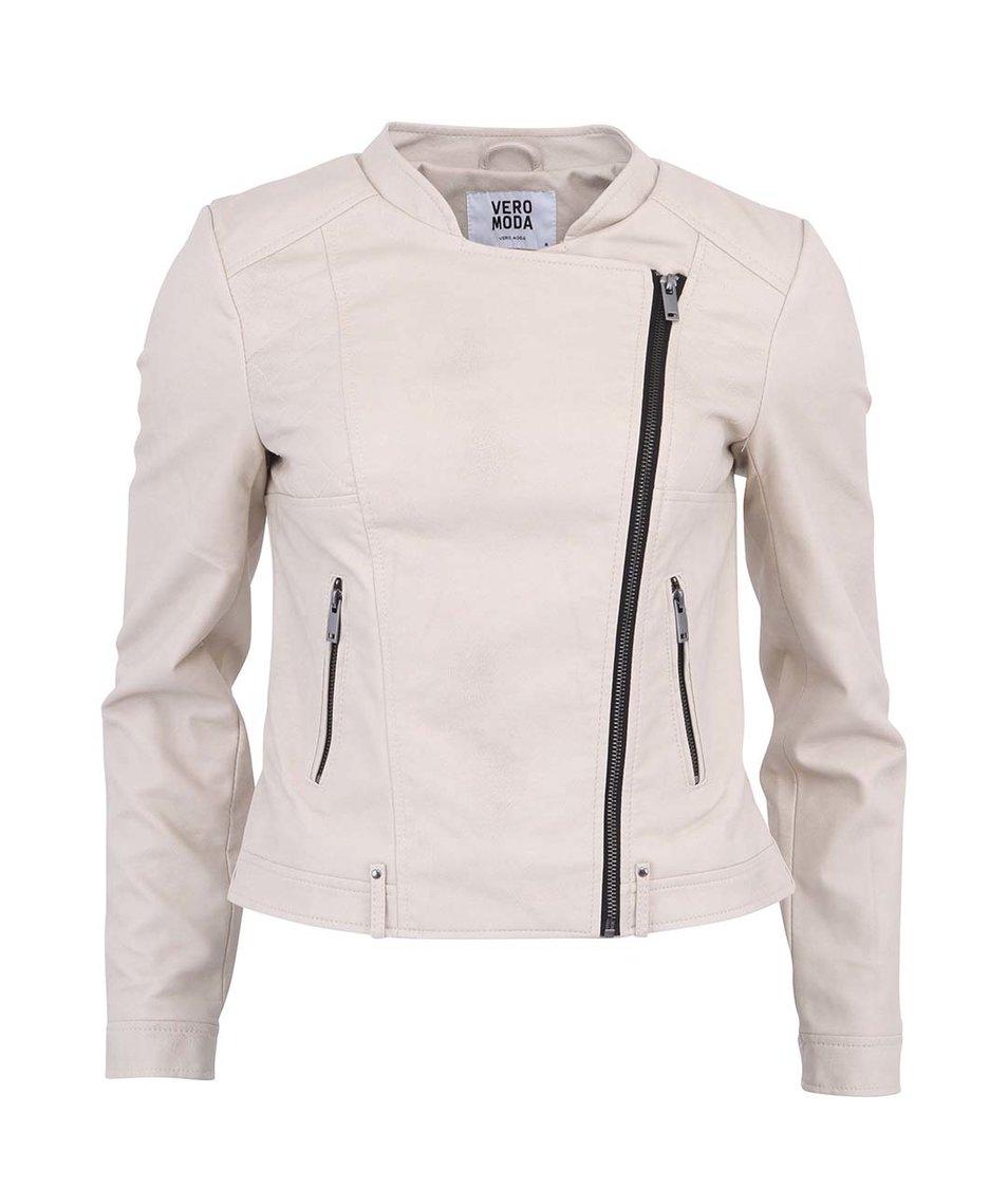 Béžová bunda Vero Moda Dilemma