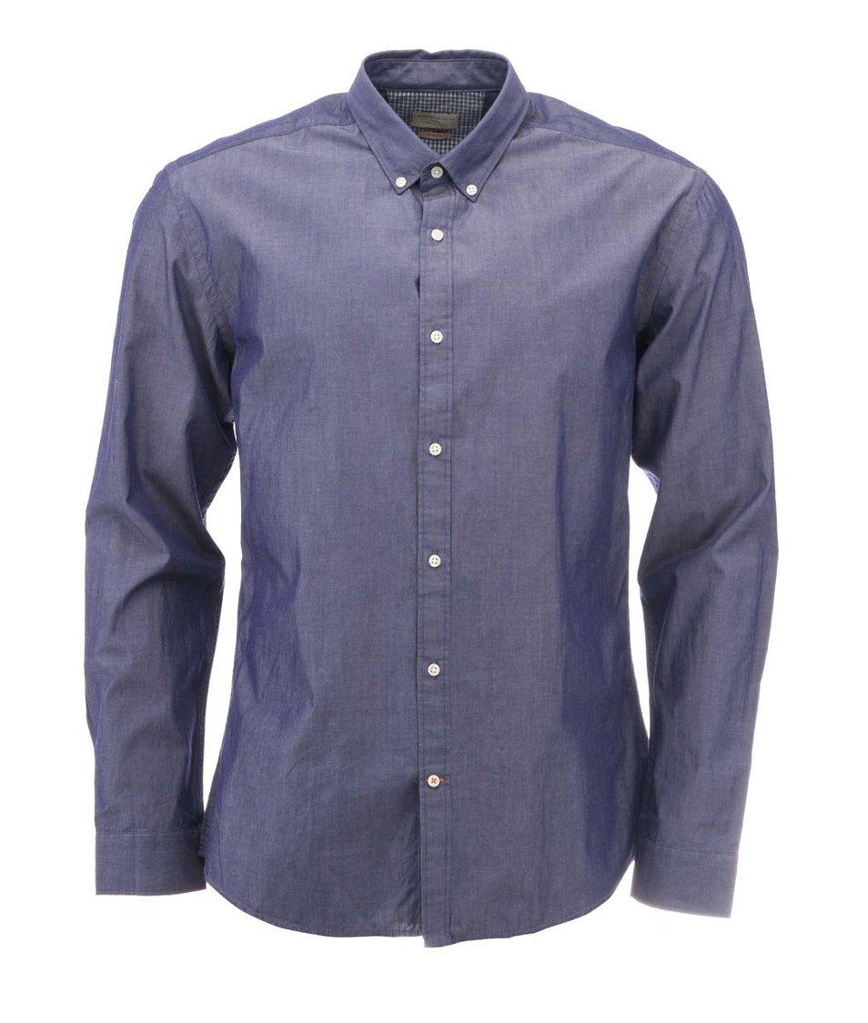 Džínově modrá košile Selected One Bow Slim Fit