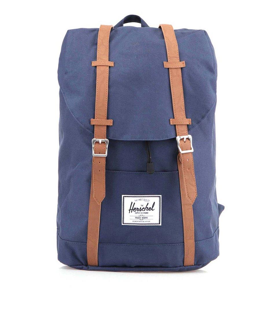 Tmavě modrý batoh Herschel Retreat