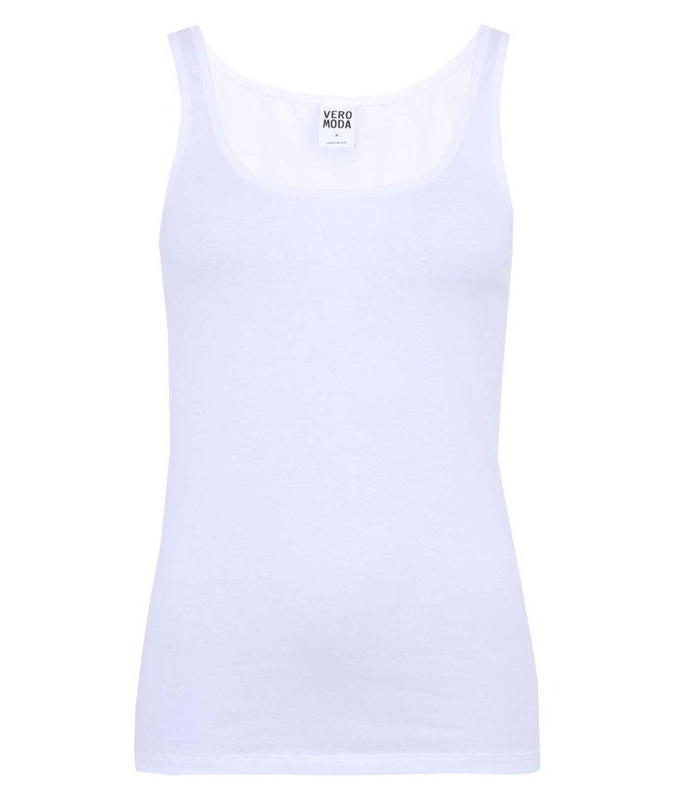 Bílé dámské tílko Vero Moda Maxi My