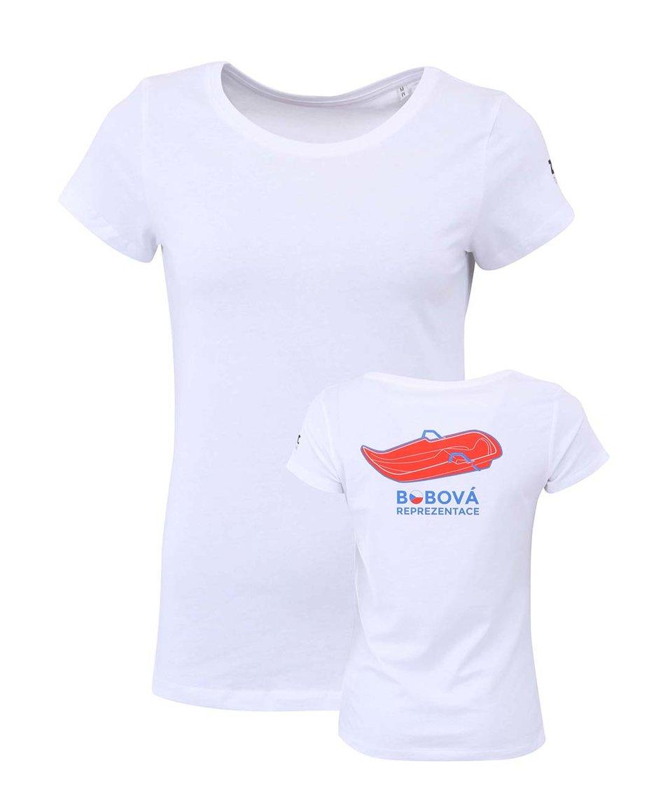 Bílé dámské tričko ZOOT Originál Bobová reprezentace