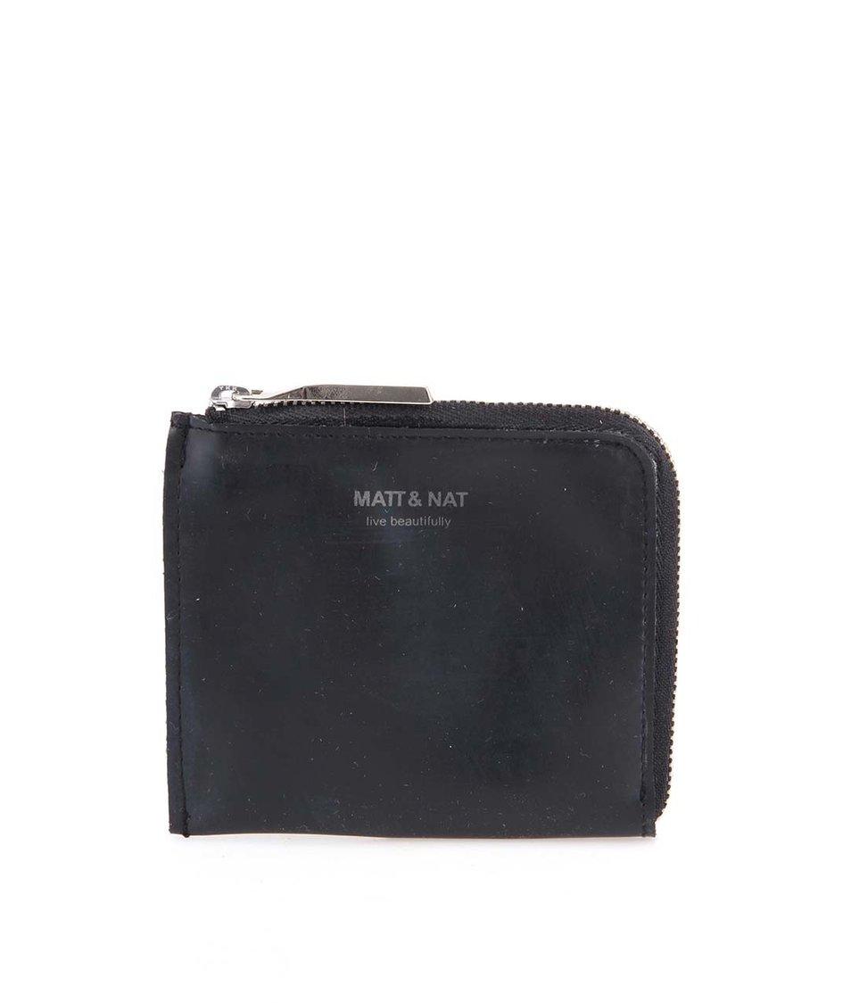 Černá veganská menší peněženka Matt & Nat Bane