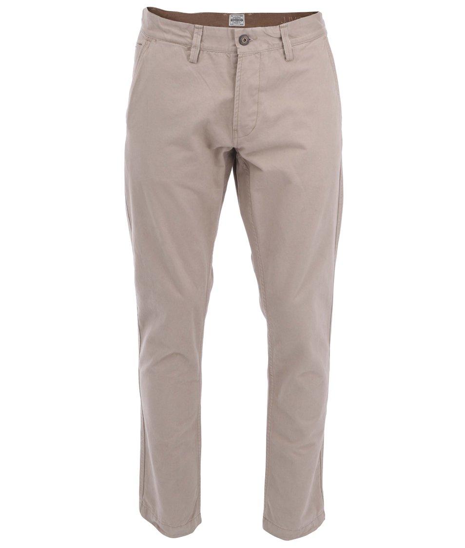 Béžové kalhoty Jack & Jones Mike