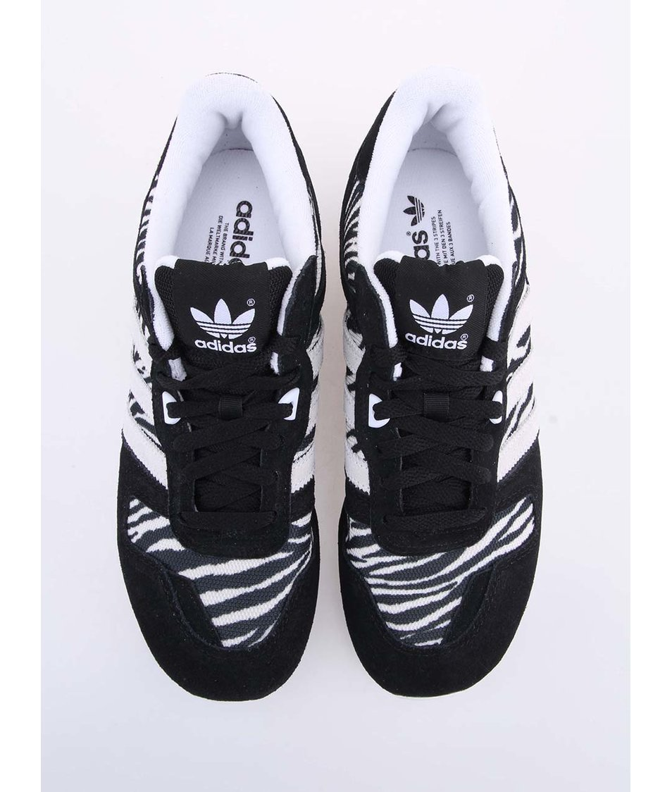 Černo-bílé dámské sportovní boty adidas Originals ZX 700 - Vánoční ... 4ecb680dde4