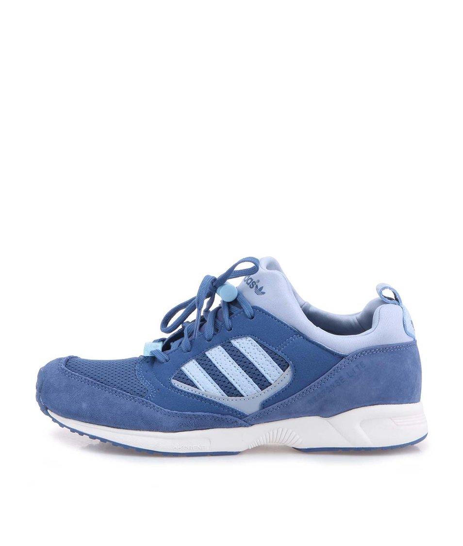 Modré dámské sportovní boty adidas OriginalsTorsion Response