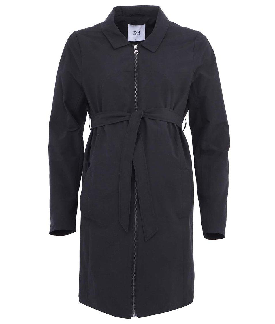 Černý těhotenský kabát Mama.licious Isolde