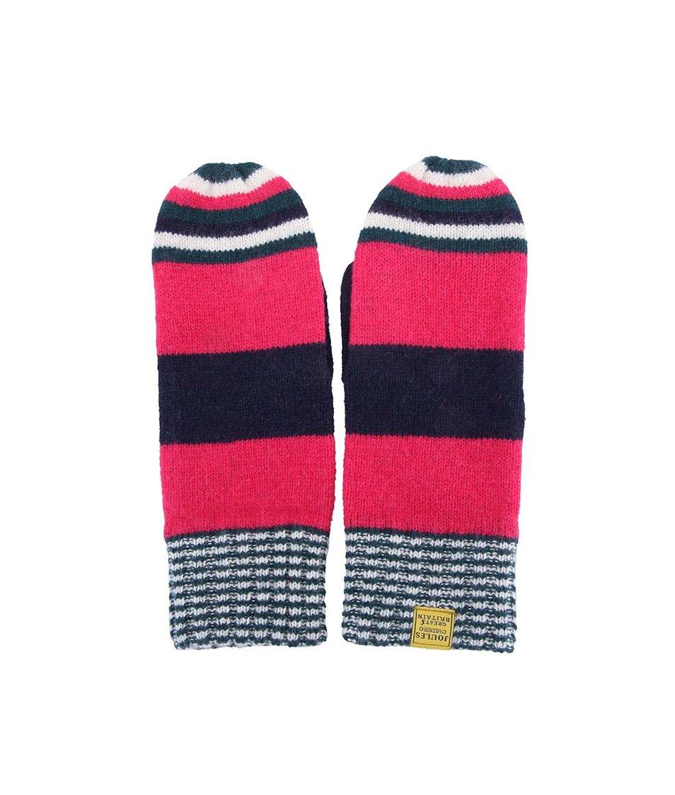 Růžové dámské vlněné rukavice Tom Joule Bawdy