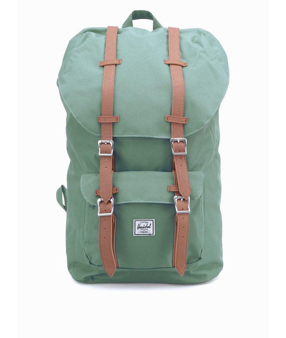 Modrozelený batoh Herschel Little America