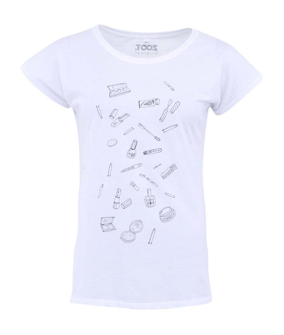 Bílé dámské triko ZOOT Originál Serepetičky