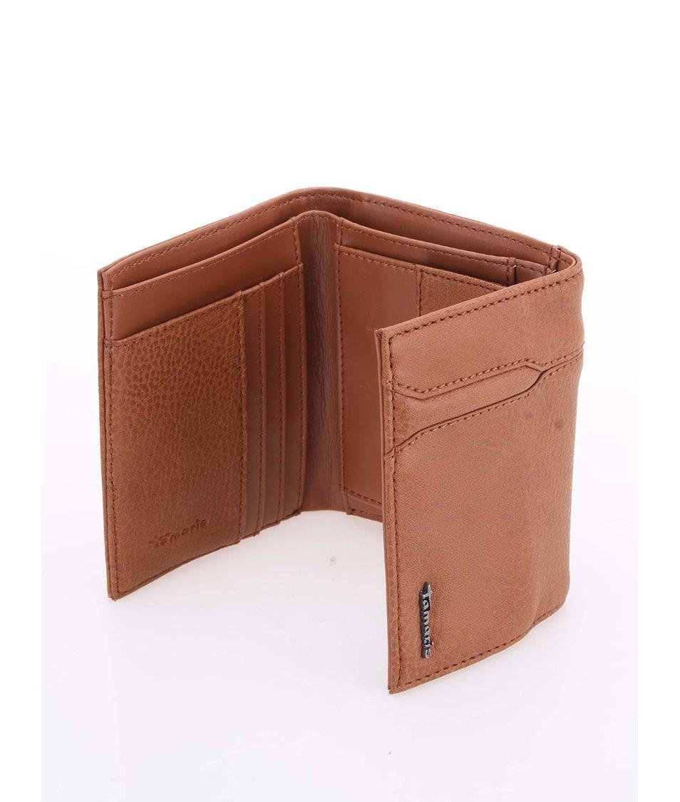 Malá hnědá peněženka Tamaris Yoko